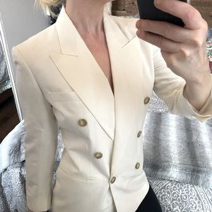 30% OFF CLOSET! Double breasted long blazer jacket